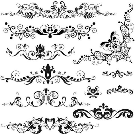 brush motif baroque 2 images r 233 serve de brush