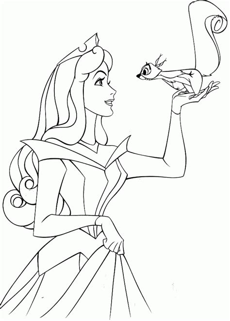 Disney Princess Aurora Coloring Pages - Coloring Home