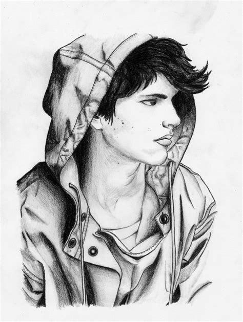 Boy Sketch Photos Drawing Boys Sad Image Hd Wallpapers Sketch Pencil Sad Boy Simple Drawings Drawing For Boys