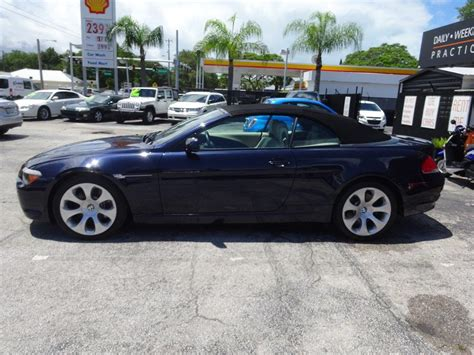 bmw 6 series convertible for sale 2006 bmw 6 series convertible for sale 277 used cars from