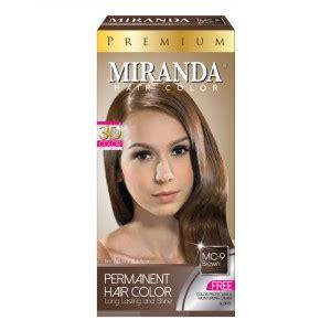 Spesial Pewarna Rambut Miranda Hair Color Premium Colour Bpom Terlari miranda official store