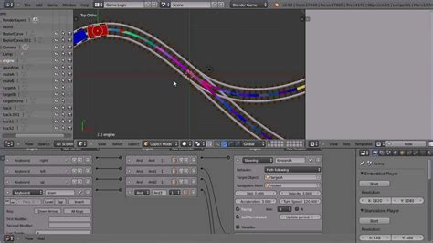 blender 3d game tutorial blender tutorial making a train follow a path in the game