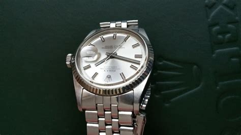 Rolex Date Just Wg For fs rolex datejust 1601 wg bezel uncommon condition