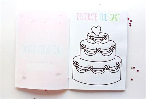 printable children s wedding activities free printable wedding activity book