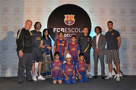 barcelona academy spanish football club fc barcelona launches fcbescola