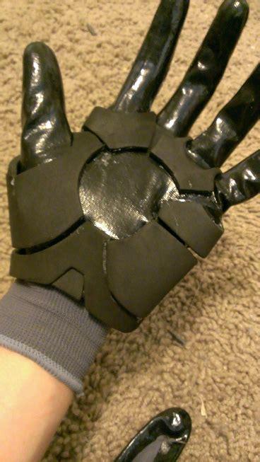 quick easy iron man gloves tutorial art iron man