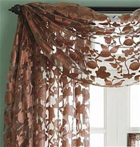 Hanging Scarf Valances Glossary Of Terms The Blinds Review