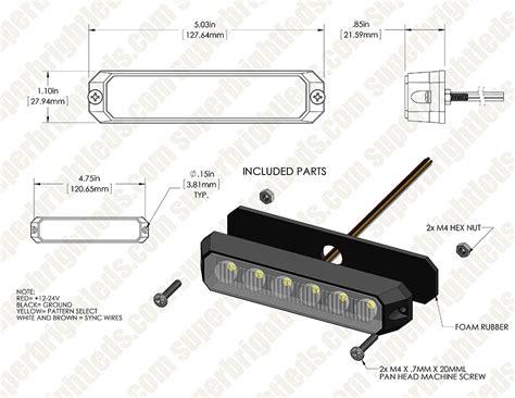 whelen responder light bar wiring diagram whelen 400