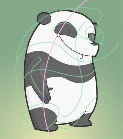 tutorial vector character maintaining rhythm and flow in vector character design
