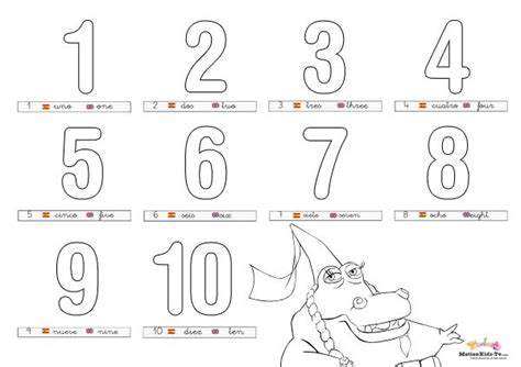 imagenes educativas para imprimir y colorear pintas educativos aprender numeros coloring pages