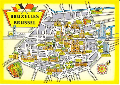 brussels map map of brussels belgium