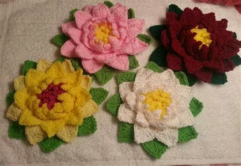 Cd Seamless Flower 3d more crochet 3d flowers pattern from http