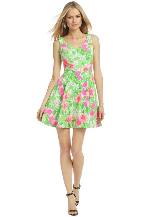 Lilly Dress freja dress by lilly pulitzer for 45 rent the runway