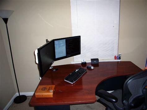 dual lcd monitor stand patsheadcom blog