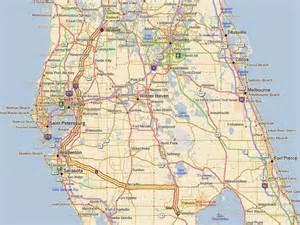 bushnell florida map march 2012