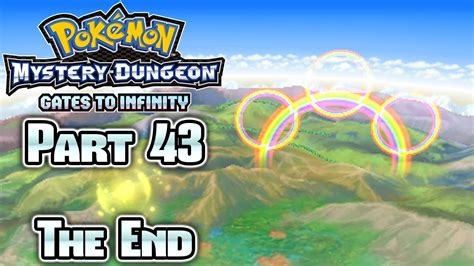 mystery dungeon gates to infinity pok 233 mon mystery dungeon gates to infinity part 43 ending