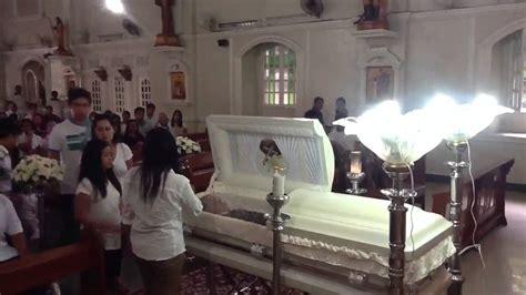 wake funeral berwin nicolie brion angeles wake and funeral 4 youtube