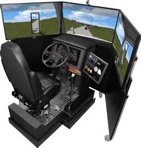 simulator stuhl vs600m truck driving simulator virage simulation