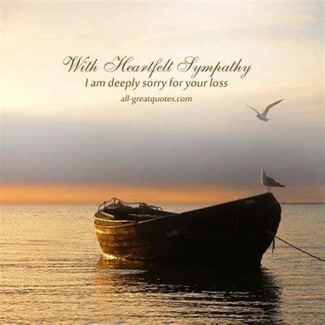 free sympathy card messages with heartfelt sympathy