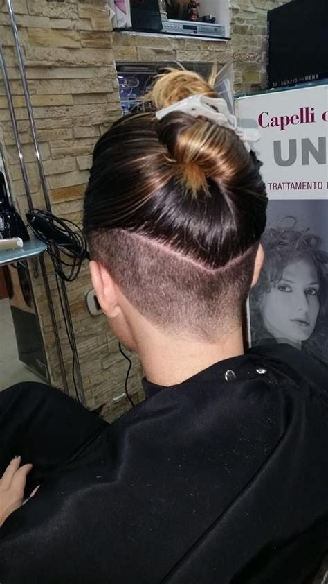 shave in a parting 17 best images about just napes on pinterest asymmetric