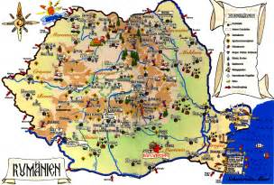romania maps geographical political road