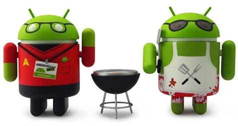 android figure android collectible mini figure summer edition gadgetsin