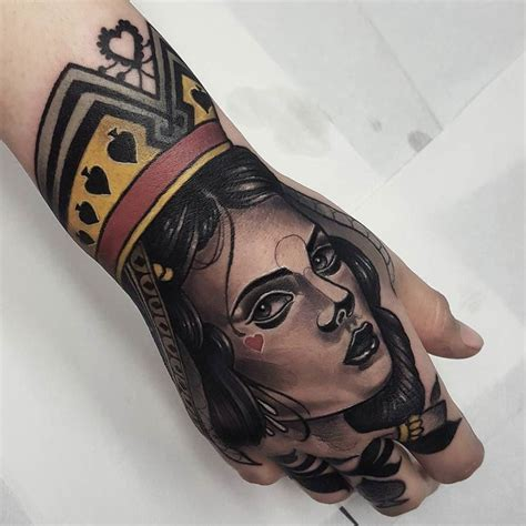 queen knuckle tattoo 865 best hand tattoos images on pinterest arm tattoos