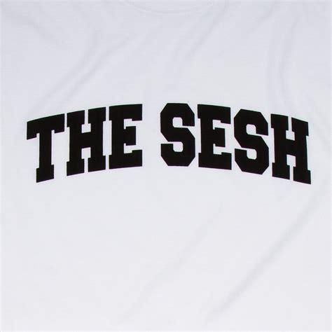 T Shirt The the sesh t shirt white