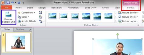 remove background  pictures  powerpoint   windows