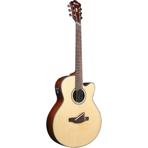 fanned fret acoustic guitar ibanez aelff10 natural fanned fret acoustic electric