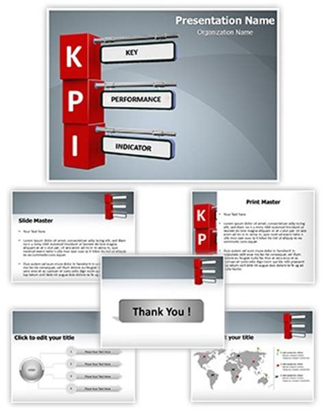 powerpoint templates for kpi professional kpi editable powerpoint template