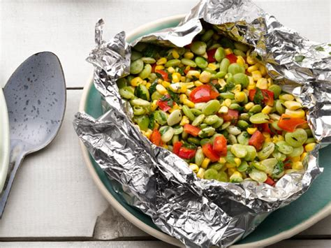 50 things to grill in foil food network grilling and summer how tos recipes and ideas