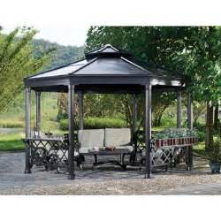8 Ft Hardtop Gazebo by Sunjoy 13 Ft X 14 Ft Royal Octagon Hardtop Gazebo