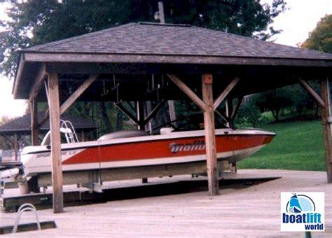 boat overhead 4000 lb overhead steel boat lift boat lift world