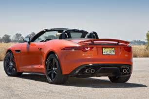 2014 F Type Jaguar 2014 Jaguar F Type V8 S Rear Three Quarters Photo 2