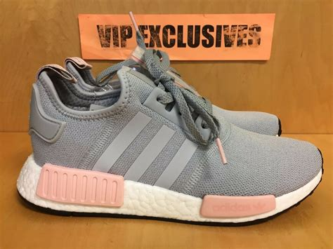adidas nmd   grey vapour pink light onix womens nomad runner  limited ebay