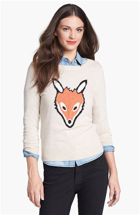 Aniimal Sweater animal sweaters popsugar fashion