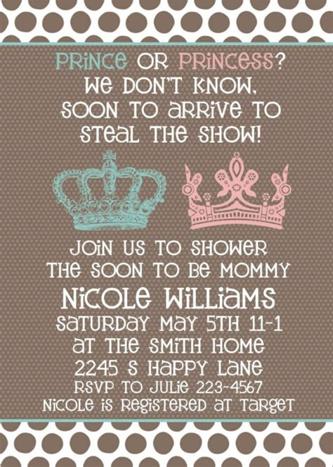 themes in an unknown girl baby shower invitation neutral gender unknown shower