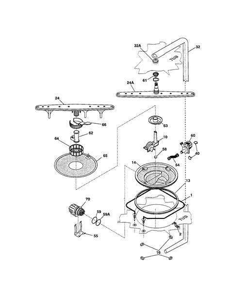 ge power 3 parts diagram dishwasher not draining kenmore guard 3 dishwasher
