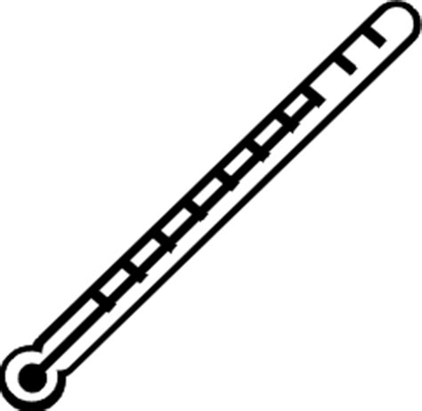 thermometer clip art black and white free thermometer clip art pictures clipartix