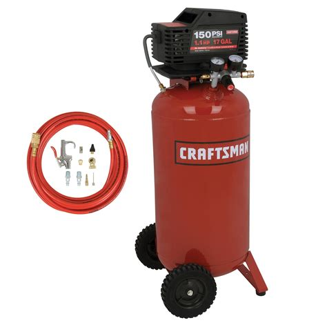 craftsman 16737 17 gal vertical air compressor sears outlet
