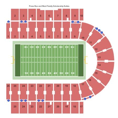 texas tech football seating map kansas jayhawks vs texas tech raiders tickets memorial stadium oct 7 2017 buy kansas