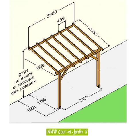 Carport Construction Plans auvent en bois pas cher