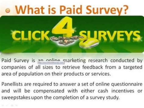 Surveys 4 Money - how to make money online click 4 surveys review ways to make money 2015 youtube