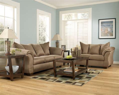 Signature Living Room Sets Buy Darcy Mocha Living Room Set Signature Design By