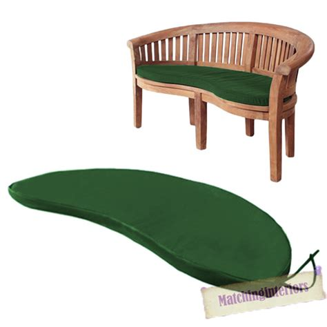 garden bench seat pads green 2 seater water resistant outdoor cushion garden