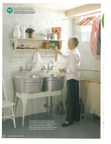 wash for laundry room 22 best galvanized tub sinks images on pinterest