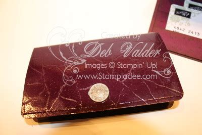 Deb Gift Card - faux alligator clutch gift certificate holder with deb valder stladee com