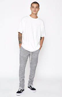 Oliveinch Jogger Pria Grey best 25 grey joggers ideas on grey joggers