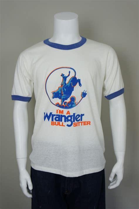 T Shirt Sam Smctc07p17 Wrangler by Vintage Wrangler Ringer T Shirt Vintage T Shirts